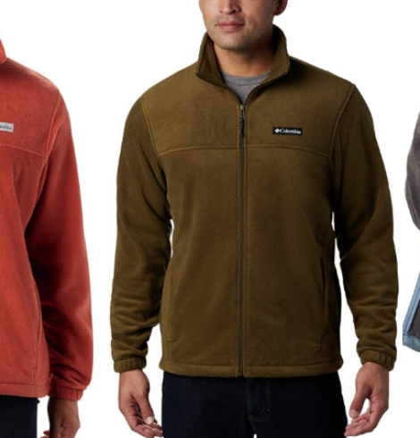 Columbia Men's Steins Mountain Full Zip 2.0 Fleece Deal – Includes Big & Tall Sizes up to 6X!