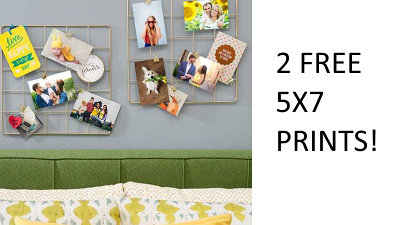 Walgreens Photo is offering 4 free 5x7 prints with in-store pickup!Add the item to your cart, use coupon code FOURTH at checkout, and select free in store pick up to make this offer % downcfilau.gq is valid for today only, July 4th.