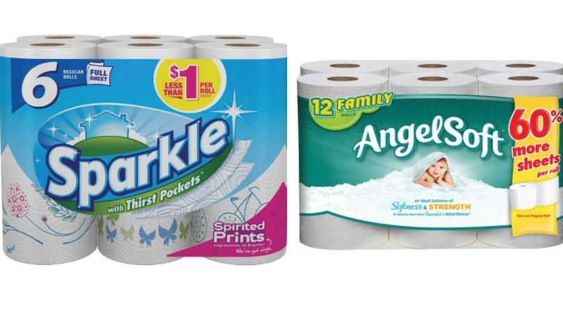 Sparkle paper towel coupons