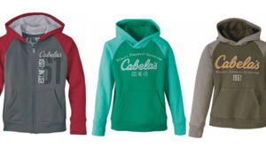 Youth Cabela's Hoodies Only $9.88 (Regular $39.99)