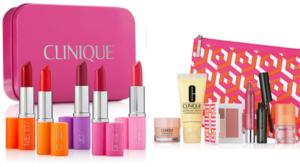 Clinique 6 Piece Lipstick Set + & Piece Bonus Set Only $29.50 ($165 Value)
