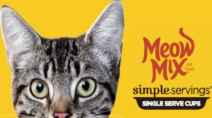 FREE Meow Mix Simple Servings Sample!
