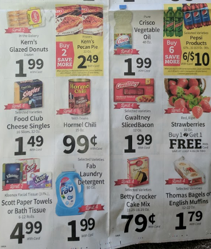 Does Food City Double Coupons