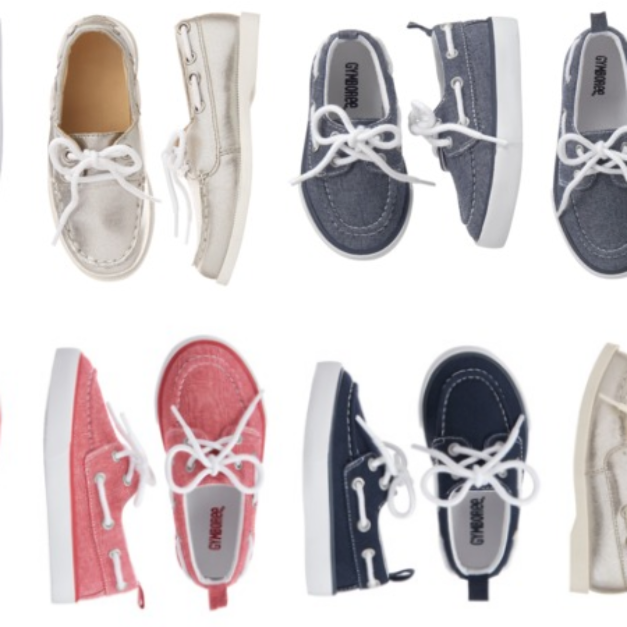 Gymboree Boat Shoes Only $4.39 Shipped (Regular $32.95)