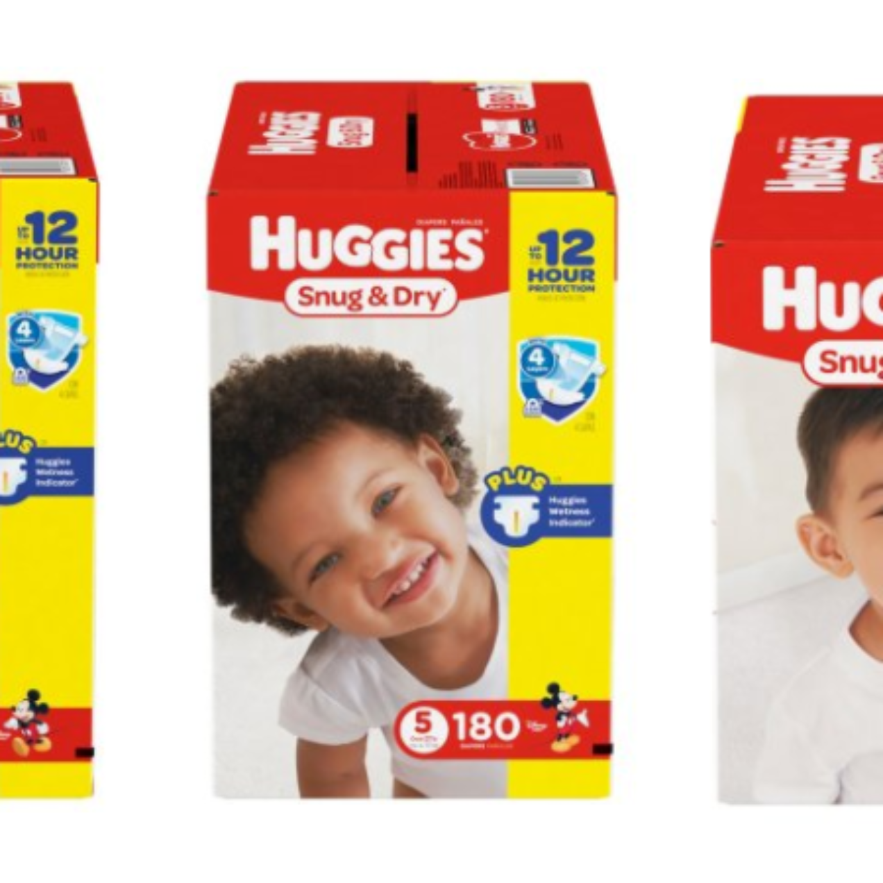 Huggies Snug & Dry Diapers – HUGE Boxes Only $28.98 Shipped