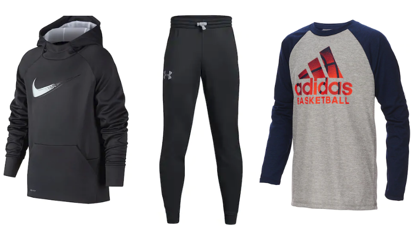 Hot Clearance Deals On Boys Nike, Adidas & Under Amour