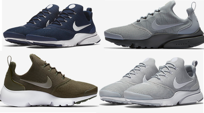 9a3123eca6a Hop on over to Nike.com where they are offering an extra 20% off sale items  when you enter code 20EXTRA at checkout. I spotted these Nike Men s Presto  Fly ...