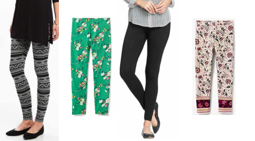Old Navy Leggings Only 5 Today Only Women Girl And
