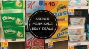Kroger Buy 4 Save $4 Mega Sale Best Deals and Coupon Matchups 11/29 – 12/12