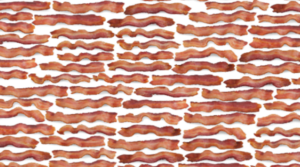 Request FREE Bacon Printed Wrapping Paper
