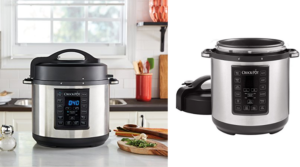 Crock-Pot 6 Qt 8-in-1 Multi-Pressure Cooker Only $49.99 (Regular $79.99) – Prime Day Deals!