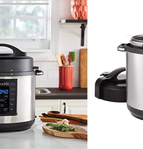 Crock-Pot Express Crock 6qt Pressure 8-in-1 Multi-Cooker Only $39.99 (Regular $99.99)!