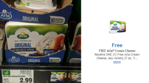 FREE Arla Cream Cheese Digital Coupons at Publix, Food City AND Kroger!