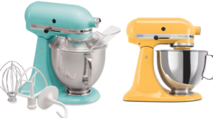 KitchenAid Artisan 5-qt. Stand Mixer as low as $127 After Rebates & Offers (Regular $380)