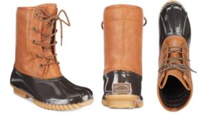 Macy's – The Original Duck Boots Only $19.99 (Regular $59)