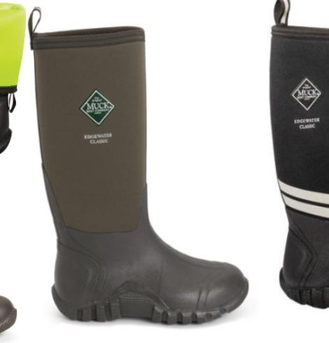 Muck Boot Edgewater Classic High Waterproof Work Boots Only $73 (Regular $140)!