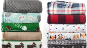 Kohl's The Big One Supersoft Plush Throws Only $8.49 (Regular $39.99)+ Earn Kohl's Cash!