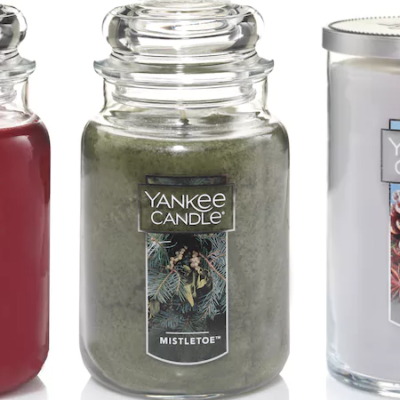 Large Yankee Candles Only $9.59 (Regular $27.99)!