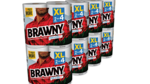 Brawny Pick-a-Size Paper Towels 16 XL Rolls as low as $19.92