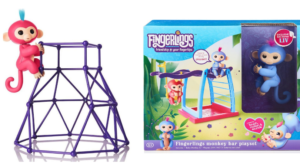 Fingerlings Baby Monkey AND Playset In Stock for $29.99!