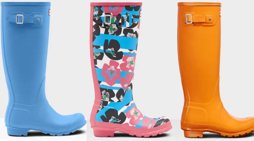 d27da2b4ecad9 Women s Tall Hunter Rain Boots Only  60 Shipped (Regular  150)