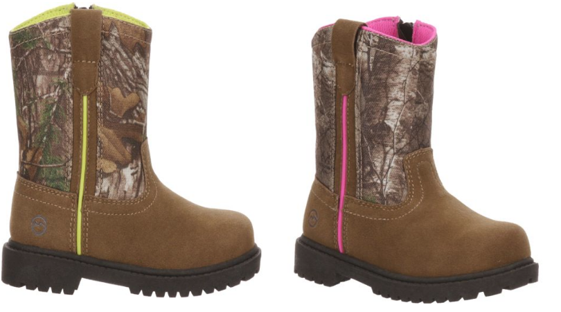 a5029293ed267 Youth Magellan Outdoors Scout Wellington Boots Only $4.99