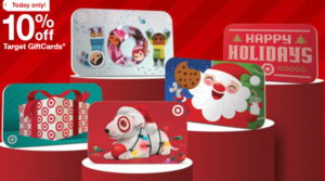 10% Off Target Gift Cards – Today Only!