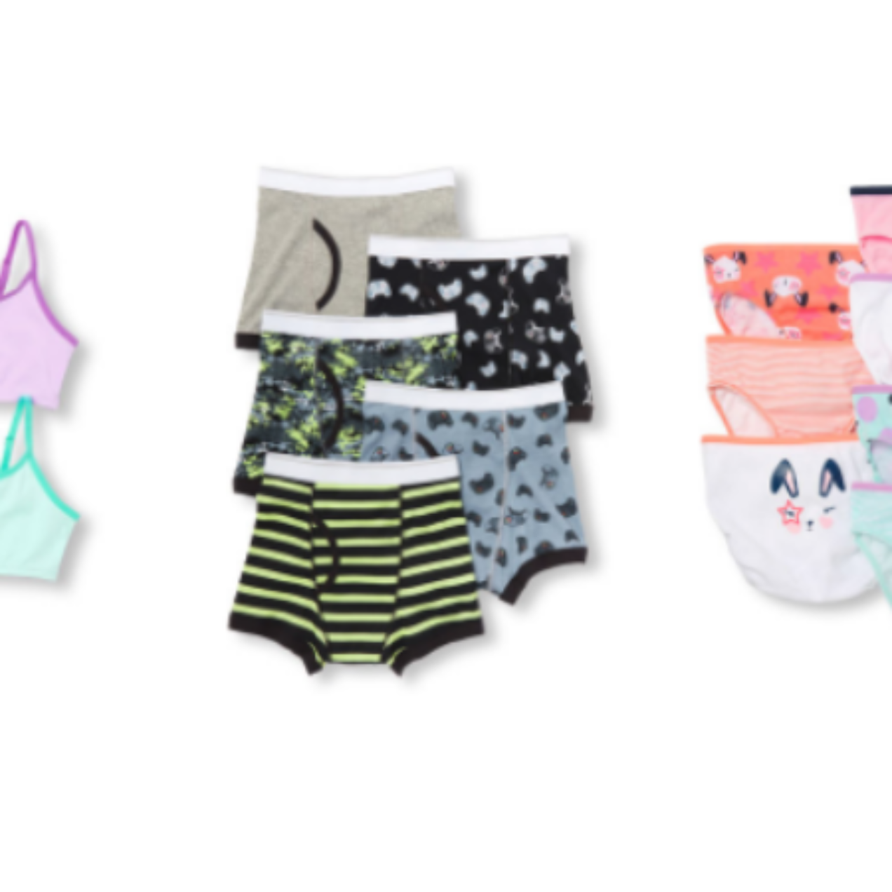 Save 60% Off Site-wide at The Children's Place = 7 Pairs of Underwear Only $7.98