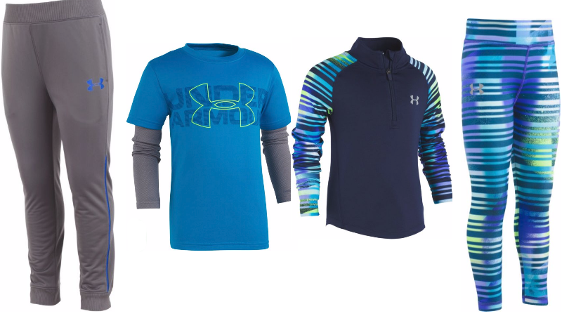 under armour kids clothes