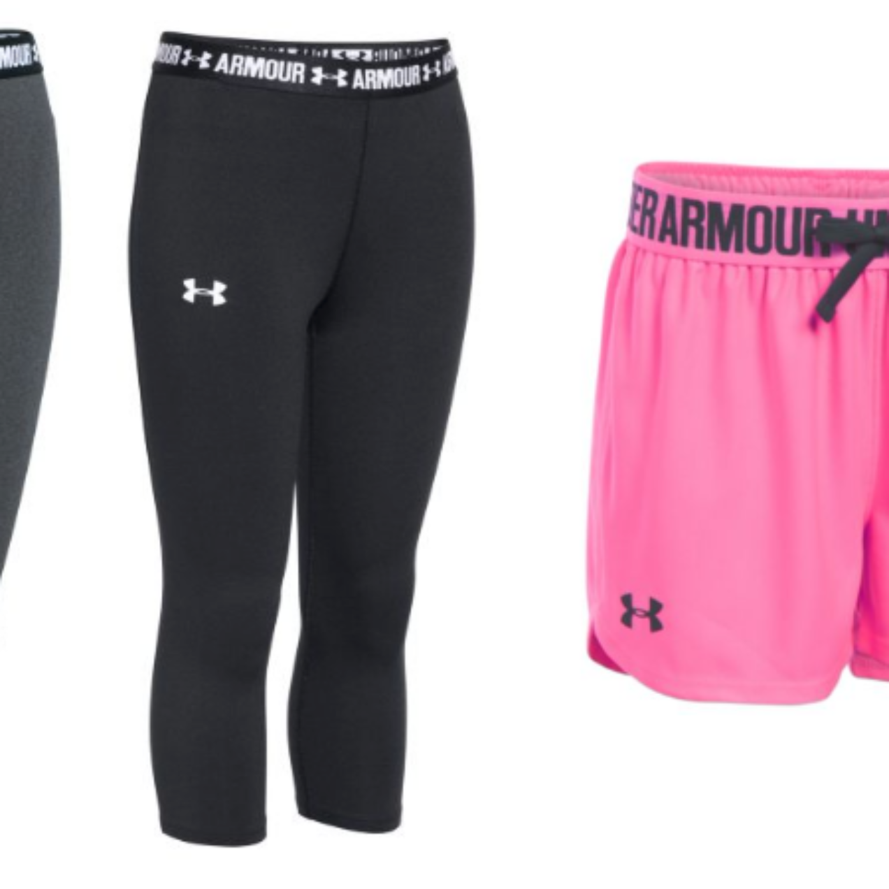 Under Armour Girls Yoga Pants Only $9 – Shorts Only $6