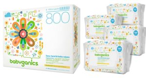 Babyganics Face, Hand & Baby Wipes, Fragrance Free (800 count) Only $12.75 (Regular $26.60)!