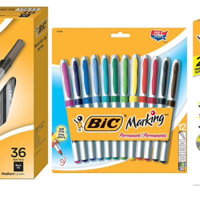 Save Big On Select Bic Office Supplies – Today Only!