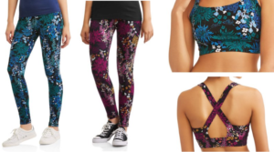 Danskin Now Floral Leggings and Sports Bras Only $2.50!