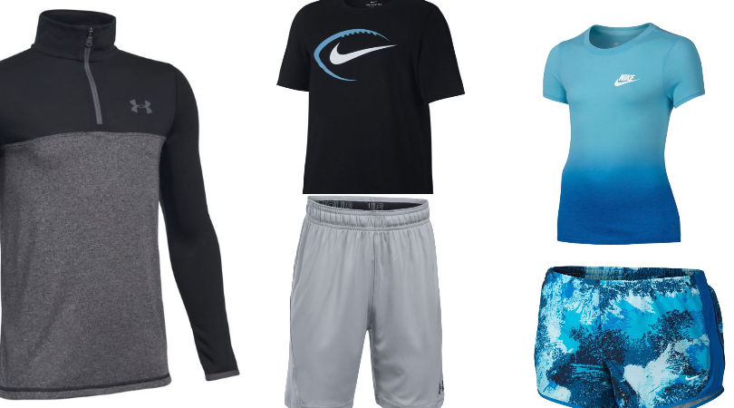 under armour athletic apparel
