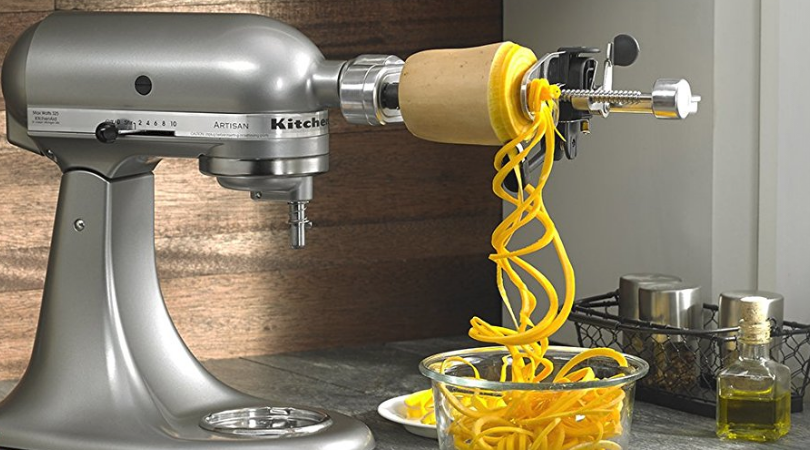 Kitchenaid Spiralizer Attachment With Peel Core Amp Slice