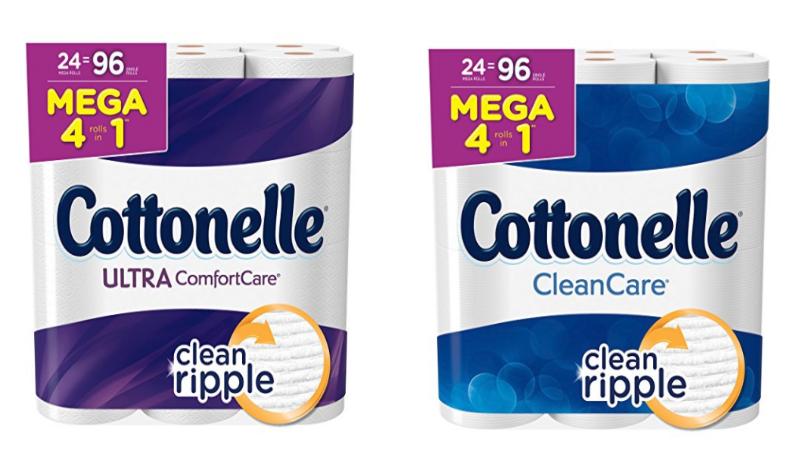 Cottonelle Ultra Comfort 24 Mega Rolls As Low As 15 99
