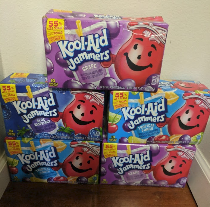 Grab A Sammie And A Kool Aid: Kool-Aid Jammers 10 Ct. Only $0.77