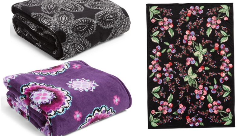 Vera Bradley XL Throw Blankets Only $21.30 Shipped ...