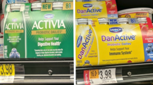 Activia and DanActive Probiotic 8 ct. Dailies Only $0.49 at Walmart (regular $4.98)!