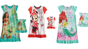 Tonight Only – Disney Girls & Matching Dolls Nightgown Sets as low as $9.57 (Regular $34)