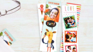 Four FREE Personalized Bookmarks + Free Store Pickup!