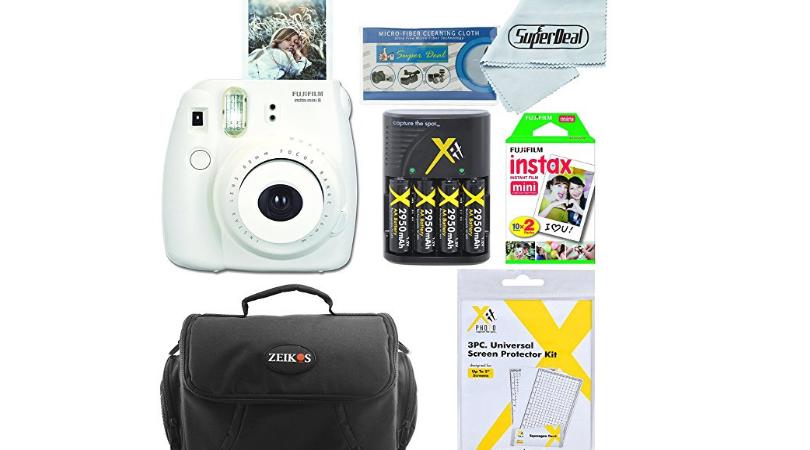 Fujifilm Instax Mini 8 Camera Bundle Only 74 99 Regular