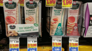 Hormel Natural Choice Wraps and Snacks Only $0.50 at Kroger!