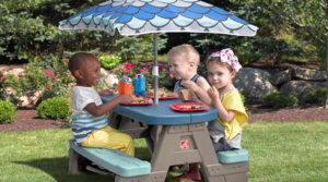 Step2 Picnic & Play Table Set as low as $29.11 (Regular $79.99)!