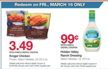 Hidden Valley Ranch Dressing Only $0 99 at Kroger + Deal On