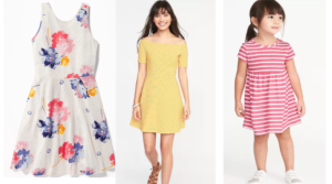 Old Navy Fit & Flare Dresses for Women Only $8 (Regular $29.99) – Girls' Sizes Only $8, Toddler Sizes Only $6!