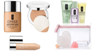All Clinique Foundation 15% Off + FREE 10-Day 3-Step Kit + FREE 3 pc. Gift!
