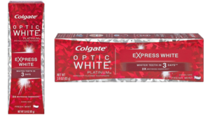 Colgate Optic White Toothpaste Sample Only $2 Shipped + Get a $2 Credit!
