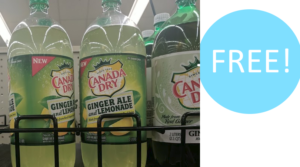 Free Canada Dry Ginger Ale at Food Lion – Digital Coupon!