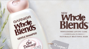 Possible Free Sample of Garnier Whole Blends Oat Delicacy